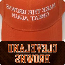 MAKE THE BROWNS GREAT AGAIN Hat NFL FOOTBALL CLEVELAND BROWN
