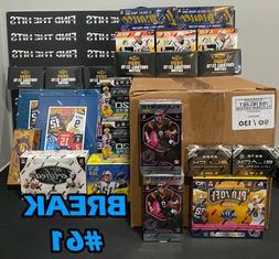 MEGA BREAK #61-  Box Football +  Jerseys +  Platinum Mini He