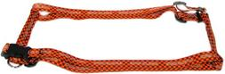 Hunter MFG 5/8-Inch Cleveland Browns Adjustable Harness, X-S