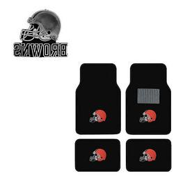 new 5pc nfl cleveland browns car truck