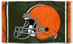 NEW Cleveland Browns Flag Large 3'X5' Sports NFL Banner FREE