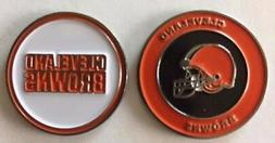 New Cleveland Browns NFL Golf Ball Marker + Free BONUS!!!