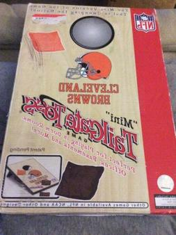NEW Cleveland Browns NFL MINI Tailgate Toss Beanbag Cornhole