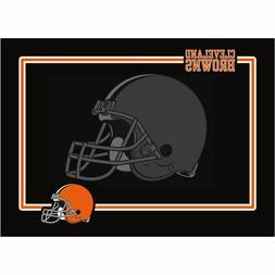 NEW CLEVELAND BROWNS PREMIUM NEOPRENE PET DOG BOWL MAT OR PL