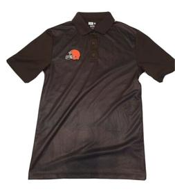NEW Men's Cleveland Browns Golf Polo Shirt Size Small TX3 Co