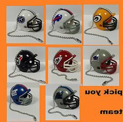 NEW NFL Ceiling Fan Helmet Pull Chain Lamp Pull Chain -- CHO