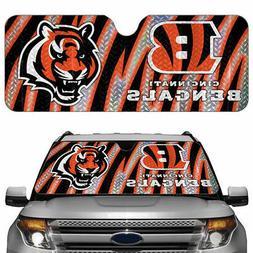 New NFL Cincinnati Bengals Car Truck Windshield Folding SunS