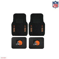 New NFL Cleveland Browns Car Truck Front / Rear Rubber Heavy