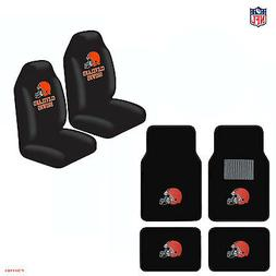 New NFL Cleveland Browns Car Truck  Seat Covers & Carpet Flo