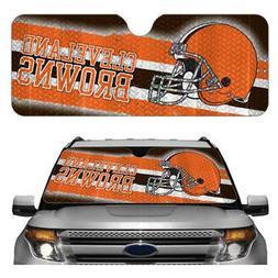New NFL Cleveland Browns Car Truck Windshield Folding SunSha