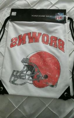 New NFL Cleveland Browns drawstring bag/ gym bag/ back sack