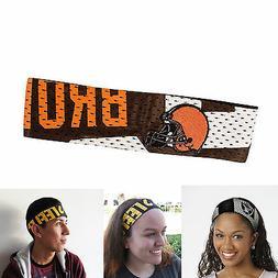 New NFL Cleveland Browns Fanband Jersey Headband Head-Band b