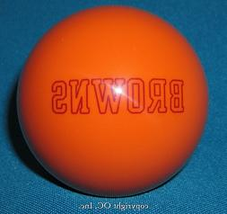 NEW NFL Cleveland BROWNS Football Billiard Pool Cue Ball  ~