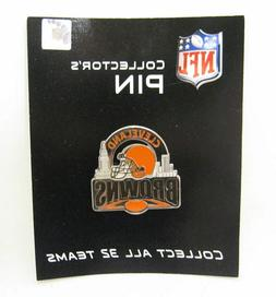 New NFL Collector's Pin Cleveland Browns Siskiyou Fine Pewte