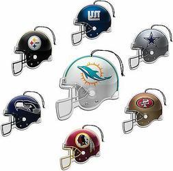 NFL Air Freshener Nu-Car Scent 3 Pack - Pick Team