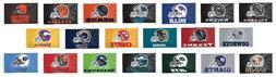 """NFL Assorted Teams Wincraft 3' x 5' Indoor Outdoor """"Helmet"""""""