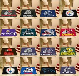 NFL Bath Mat Bathroom Shower Area Rugs Choose Your Team