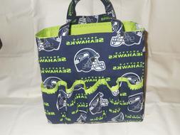 NFL Bingo Tote Bag Handmade Fully Lined w/Pockets