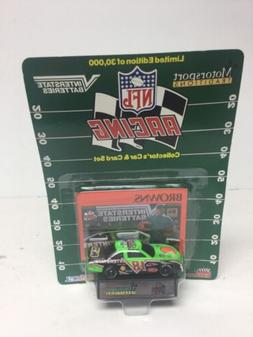 NFL Browns  DIECAST Car, Card & Stand Christmas Gift Stockin