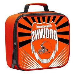 NFL Cleveland Browns Adult / Kids Insulated Lunch Kit Box Ba