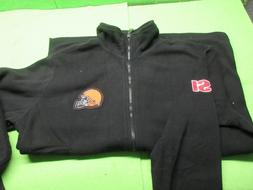 NFL Cleveland Browns  Adult XL Zip Up Sports Illustrated Jac