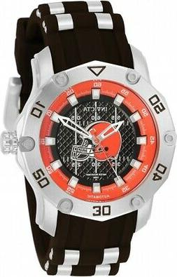 Invicta NFL  Cleveland Browns Automatic Brown Dial Ladies Wa