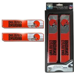 NFL Cleveland Browns Car Truck Edition Badge Color Aluminum