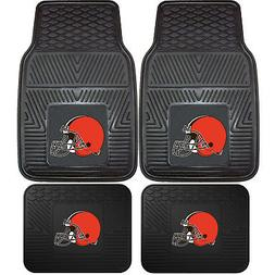nfl cleveland browns car truck rubber vinyl