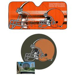 NFL Cleveland Browns Car Truck Windshield Folding SunShade &