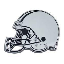 Fanmats NFL Cleveland Browns Diecast 3D Chrome Emblem Car Tr