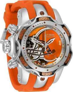 Invicta NFL Cleveland Browns Chronograph Quartz Ladies Watch