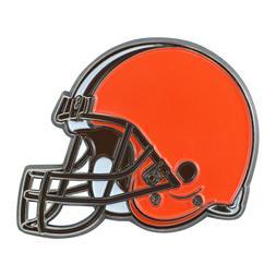 Fanmats NFL Cleveland Browns Diecast 3D Color Emblem Car Tru