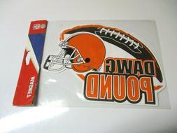 NFL Cleveland Browns Dawg Pound Car Fridge Refrigerator Magn