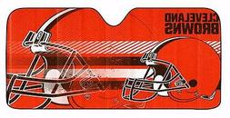 NFL Cleveland Browns Deluxe Universal Fit Auto Windshield Su