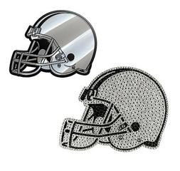 NFL Cleveland BROWNS His and Hers Bling Emblem Kit