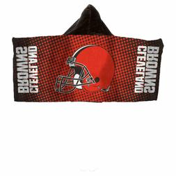 NFL Cleveland Browns Hooded Towel for Kids Makes The Best Gi