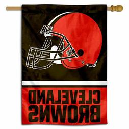 NFL Cleveland Browns House Flag and Banner