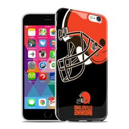 MIZCO NFL Cleveland Browns iPhone 6 6s Oversized Logo TPU Ce