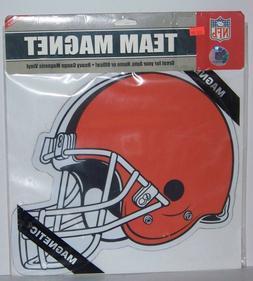 NFL Cleveland Browns Large Team Car Magnet