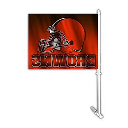 NFL Cleveland Browns Ombre Car Flag , One Size, Team Color