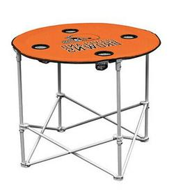 NFL Cleveland BROWNS Portable Folding Party Picnic Round Tai