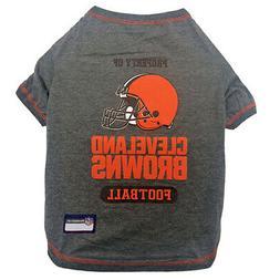 NFL Cleveland Browns Premium Dog Pet Tee Shirt