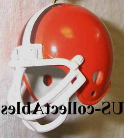 NFL CLEVELAND BROWNS Replica Football Helmet Keychain Sports