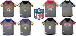 NFL football Pet Gear Dog  HOODIE T-Shirt  XS-L All Teams U