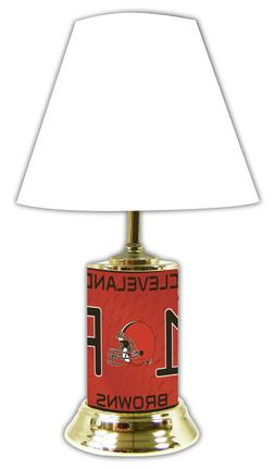 NFL Lamp w/ shade Cleveland Browns