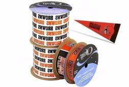 nfl licensed cleveland browns ribbons and mini