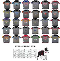 NFL Licensed Football Dog Pet Hoodie T-Shirt CHOOSE YOUR TEA