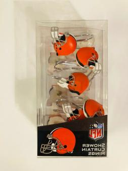NFL- New Cleveland Browns Shower Curtain Rings