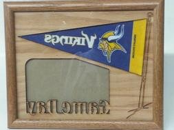 NFL Oak Picture Frame, Game Day, New