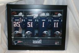 NFL Personalized Locker Room Print Black Picture Frame Custo